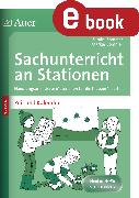 Cover-Bild zu Sachunterricht an Stationen Spezial Zeit&Kalender (eBook) von Sommer, Sandra