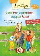 Cover-Bild zu Lesetiger - Zwei Ponys machen doppelt Spaß von Cöster, Annette