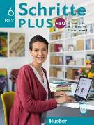 Cover-Bild zu Schritte plus Neu 6. Kursbuch + Arbeitsbuch + CD zum Arbeitsbuch von Hilpert, Silke