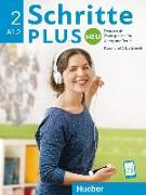 Cover-Bild zu Schritte plus Neu 2. A1.2. Kursbuch + Arbeitsbuch mit Audio-CD von Bovermann, Monika