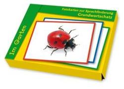 Cover-Bild zu Fotokarten zur Sprachförderung Grundwortschatz: Im Garten von Redaktionsteam Verlag an der Ruhr