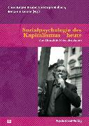 Cover-Bild zu Sozialpsychologie des Kapitalismus - heute (eBook) von Böhme, Gernot (Beitr.)