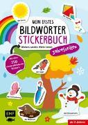 Cover-Bild zu Mein erstes Bildwörter-Stickerbuch - Jahreszeiten von Edition Michael Fischer (Hrsg.)