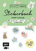 Cover-Bild zu Bullet Journal - Stickerbuch Happy Easter: 750 frühlingshafte Schmuckelemente für die Osterzeit von Edition Michael Fischer