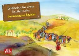 Cover-Bild zu Der Auszug aus Ägypten. Exodus Teil 1. Kamishibai Bildkartenset von Nommensen, Klaus-Uwe