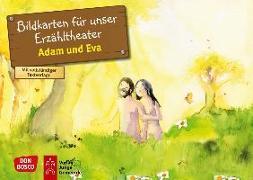 Cover-Bild zu Adam und Eva. Kamishibai Bildkartenset von Nommensen, Klaus-Uwe