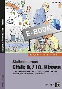 Cover-Bild zu Stationenlernen Ethik 9./10. Klasse (eBook) von Röser, Winfried