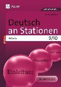Cover-Bild zu Deutsch an Stationen SPEZIAL Aufsatz 9-10 von Röser, Winfried
