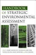 Cover-Bild zu Handbook of Strategic Environmental Assessment von Sadler, Barry (Hrsg.)