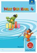 Cover-Bild zu Welt der Zahl 4. Arbeitsheft mit CD-ROM. Bayern