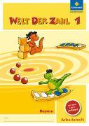 Cover-Bild zu Welt der Zahl 1. Arbeitsheft mit CD-ROM. Bayern