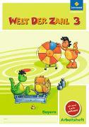 Cover-Bild zu Welt der Zahl 3. Arbeitsheft mit CD-ROM. Bayern