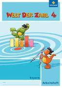 Cover-Bild zu Welt der Zahl 4. Arbeitsheft. Bayern