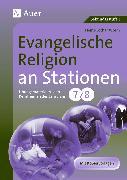 Cover-Bild zu Evangelische Religion an Stationen von Worm, Heinz-Lothar