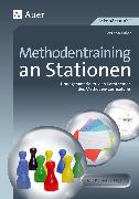 Cover-Bild zu Methodentraining an Stationen von Euler, Verena