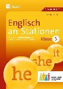 Cover-Bild zu Englisch an Stationen 5 Inklusion von Hertje, Victoria
