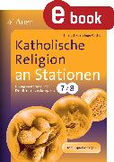 Cover-Bild zu Katholische Religion an Stationen (eBook) von Schauer, Tina