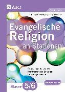 Cover-Bild zu Evangelische Religion an Stationen 5./6. Klasse Gymnasium von Jarzina, Rüdiger