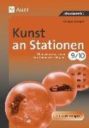 Cover-Bild zu Kunst an Stationen 9/10 von Dahmer, Julia