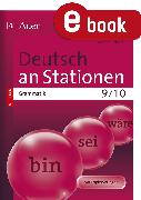 Cover-Bild zu Deutsch an Stationen Spezial Grammatik 9-10 (eBook) von Scherer, Yvonne