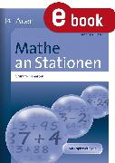 Cover-Bild zu Mathe an Stationen Grundrechenarten (eBook) von Giese, Stephan