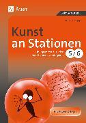 Cover-Bild zu Kunst an Stationen 5/6 von Dahmer, Julia