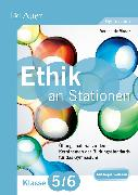 Cover-Bild zu Ethik an Stationen 5-6 Gymnasium von Visser, Verena de