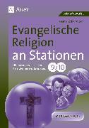 Cover-Bild zu Evangelische Religion an Stationen 9-10 von Worm, Heinz-Lothar