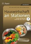 Cover-Bild zu Hauswirtschaft an Stationen Klasse 7 von Engelhardt, Michaela