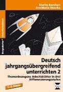 Cover-Bild zu Deutsch jahrgangsübergreifend unterrichten 2 von Borchardt, Marita