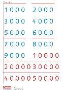 Cover-Bild zu eins-zwei-drei, Mathematik-Lehrwerk für Kinder mit Sprachförderbedarf, Mathematik, 4. Schuljahr, Zahlenkarten 2, Kartonbeilagen, 10 Stück im Beutel von Demirel, Ümmü