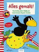 Cover-Bild zu Der kleine Rabe Socke: Alles gemalt! von Rudolph, Annet (Illustr.)