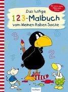 Cover-Bild zu Der kleine Rabe Socke: Das lustige 1 2 3 - Malbuch vom kleinen Raben Socke von Rudolph, Annet (Illustr.)