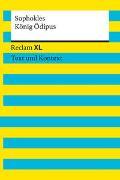 Cover-Bild zu König Ödipus. Textausgabe mit Kommentar und Materialien von Sophokles