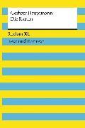 Cover-Bild zu Die Ratten. Textausgabe mit Kommentar und Materialien (eBook) von Hauptmann, Gerhart