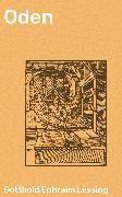 Cover-Bild zu Oden (eBook) von Lessing, Gotthold Ephraim