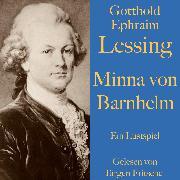 Cover-Bild zu Gotthold Ephraim Lessing: Minna von Barnhelm (Audio Download) von Lessing, Gotthold Ephraim