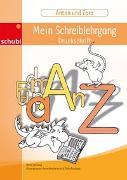 Cover-Bild zu Anton und Zora / Mein Schreiblehrgang Druckschrift von Jockweg, Bernd