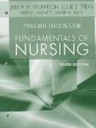 Cover-Bild zu Procedure Checklists for Fundamentals of Nursing von Wilkinson, Judith M.