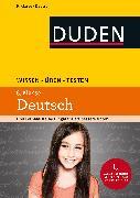 Cover-Bild zu Wissen - Üben - Testen: Deutsch 6. Klasse (eBook) von Richter, Hans-Jörg