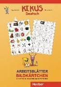 Cover-Bild zu KIKUS-Materialien. Arbeitsblätter Bildkärtchen von Garlin, Edgardis