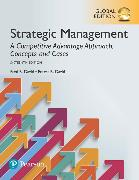 Cover-Bild zu Strategic Management: A Competitive Advantage Approach, Concepts and Cases, Global Edition von David, Fred R