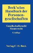 Cover-Bild zu Beck'sches Handbuch der Personengesellschaften von Prinz, Ulrich (Hrsg.)