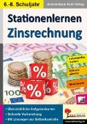 Cover-Bild zu Stationenlernen Zinsrechnung (eBook) von Kohl-Verlag, Autorenteam