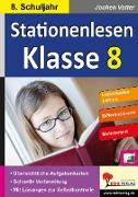 Cover-Bild zu Stationenlesen Klasse 8 (eBook) von Vatter, Jochen