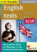 Cover-Bild zu English texts - The next, please. / 9.-10. Schuljahr von Hamblock, Barbara