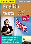 Cover-Bild zu English texts - The next, please. / 5.-6. Schuljahr von Hamblock, Barbara