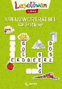 Cover-Bild zu Leselöwen Kreuzworträtsel für Erstleser - 1. Klasse (Hellgrün) von Loewe Erstlesebücher (Hrsg.)