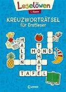 Cover-Bild zu Leselöwen Kreuzworträtsel für Erstleser - 1. Klasse (Blau) von Loewe Lernen und Rätseln (Hrsg.)