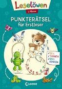 Cover-Bild zu Leselöwen Punkterätsel für Erstleser - 1. Klasse (Petrol) von Loewe Kreativ (Hrsg.)